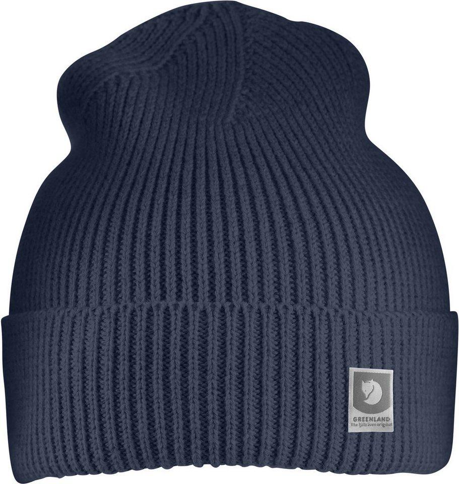 Fjällräven Hut »Greenland Cotton Beanie« | Accessoires > Hüte > Sonstige Hüte | Blau | Baumwolle | Fjällräven