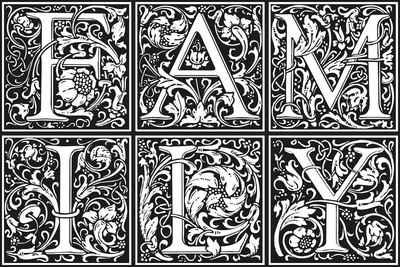 queence Getränkeuntersetzer GC0073, Set, 6-tlg., aus Acrylglas