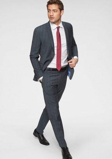 Strellson Anzug »Allen-Mercer« (2-tlg) Reine Schurwolle, seidig im Griff, Slim Fit
