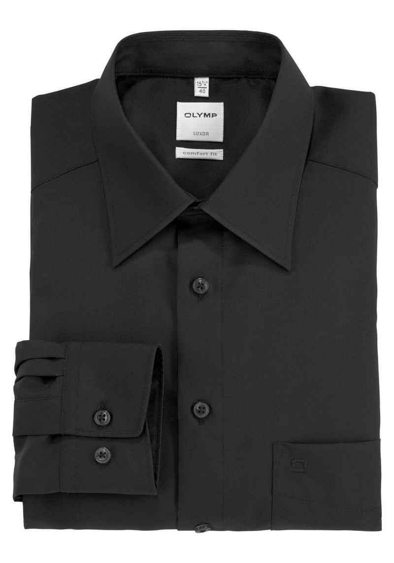 OLYMP Businesshemd »Luxor comfort fit« Mit Brusttasche, bügelfrei