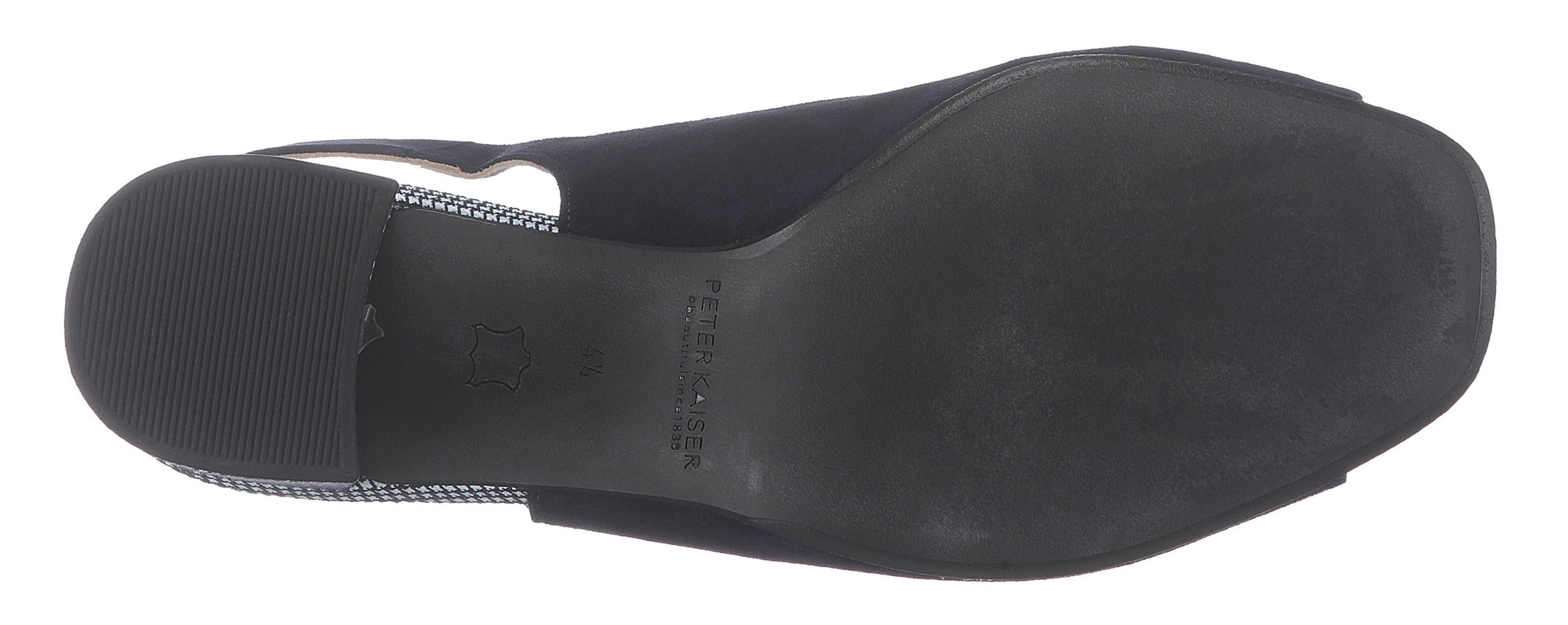 Modischem Kaiser Sandalette »cira« Mit Blockabsatz Peter v60wIw