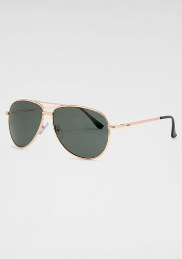 YOUNG SPIRIT LONDON Eyewear Pilotenbrille Aviator-Look, Fliegerbrille