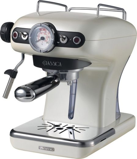 Ariete Espressomaschine Siebträgermaschine 1389PE Classia perlmutt