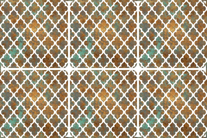 queence Getränkeuntersetzer GC0103, Set, 6-tlg., aus Acrylglas