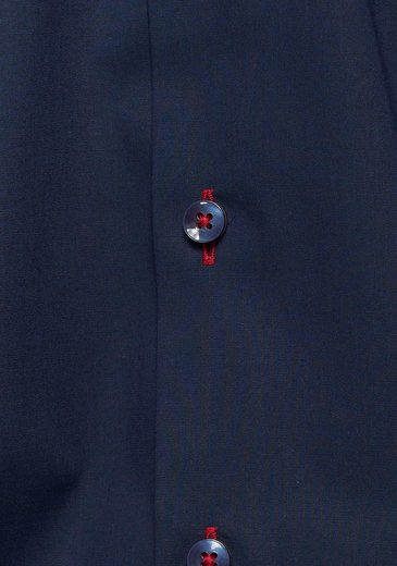 kragen Businesshemd down Fit« Doppelter Five Body »level Button Olymp 41q8SwpS