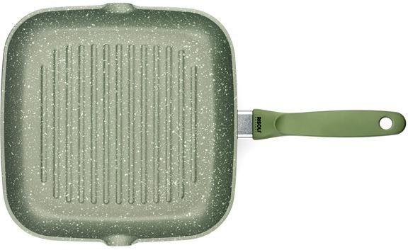 RISOLI Grillpfanne »Dr.Green®«, Aluminiumguss, 26x26 cm, Induktion