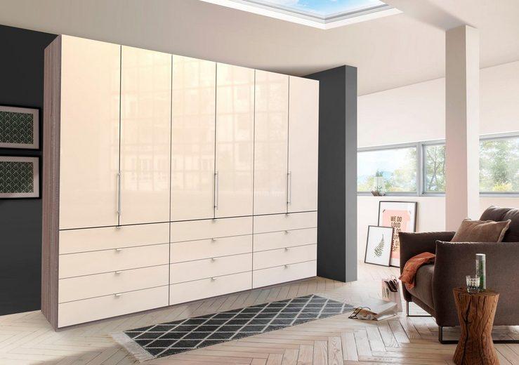 WIEMANN Falttürenschrank »Loft« Glasfront