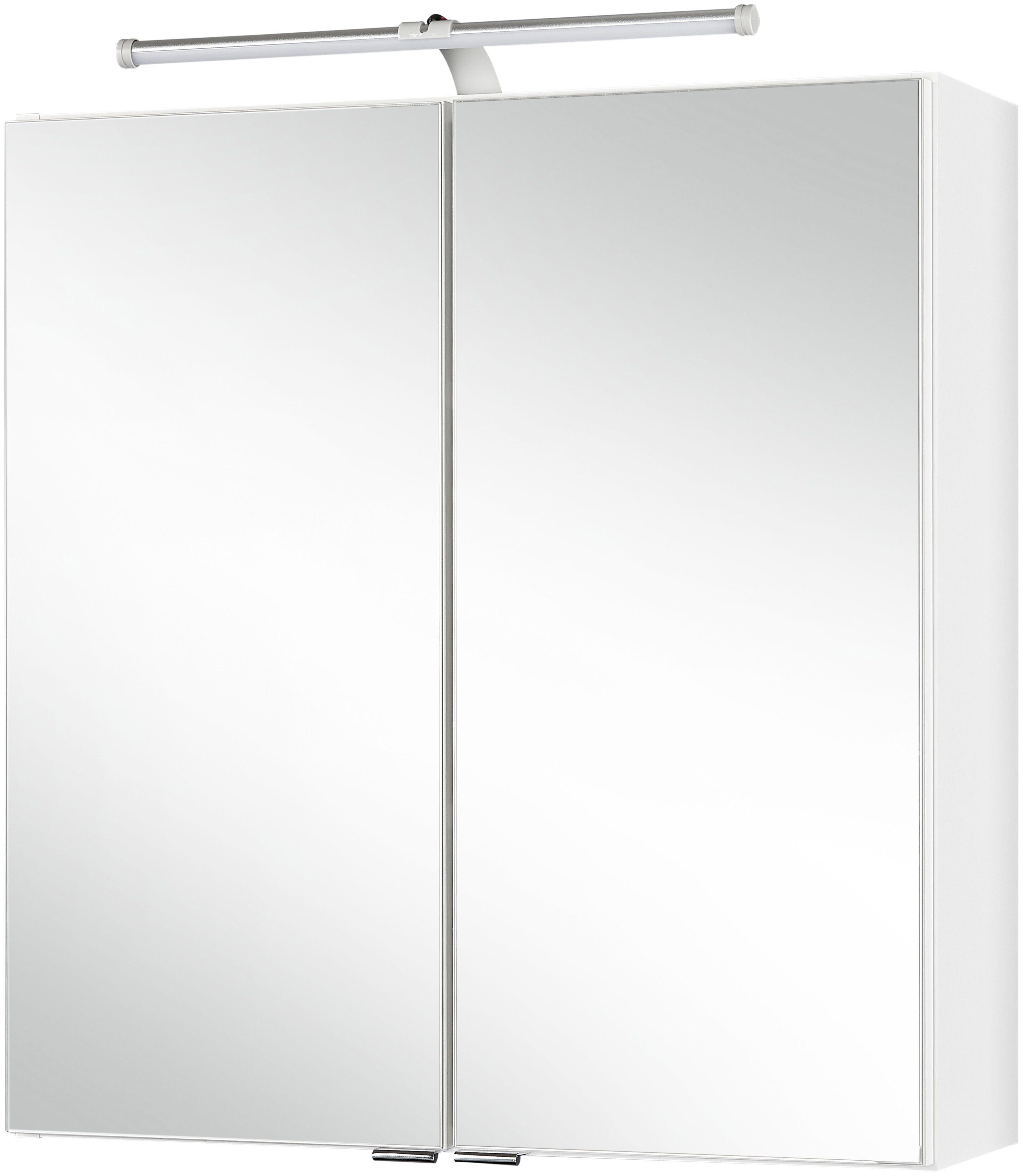 HELD MÖBEL Spiegelschrank »Turin«, Breite: 60 cm, mit LED-Beleuchtung
