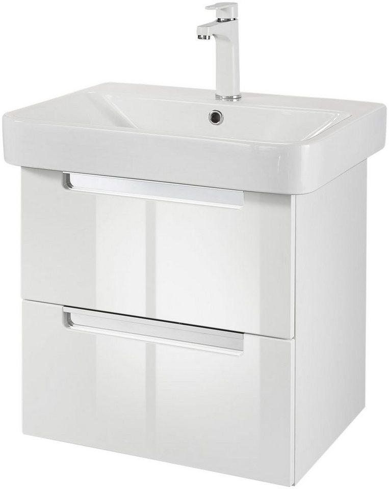held mÖbel waschplatzset »bali« badmöbelset 2tlg