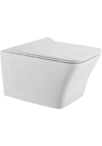 Wand-WC »Trento eckig« Sp&...