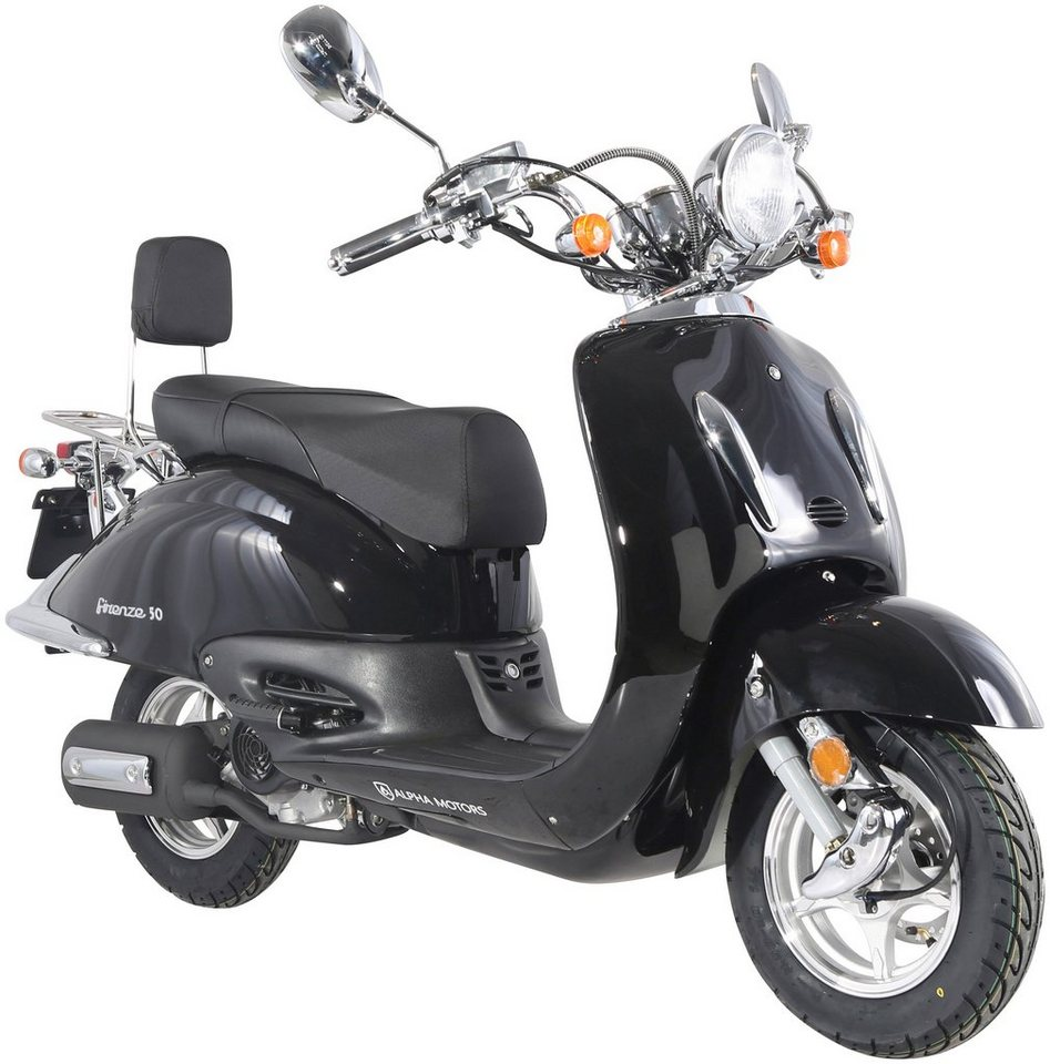 alpha motors motorroller retro firenze 50 ccm 45 km h. Black Bedroom Furniture Sets. Home Design Ideas