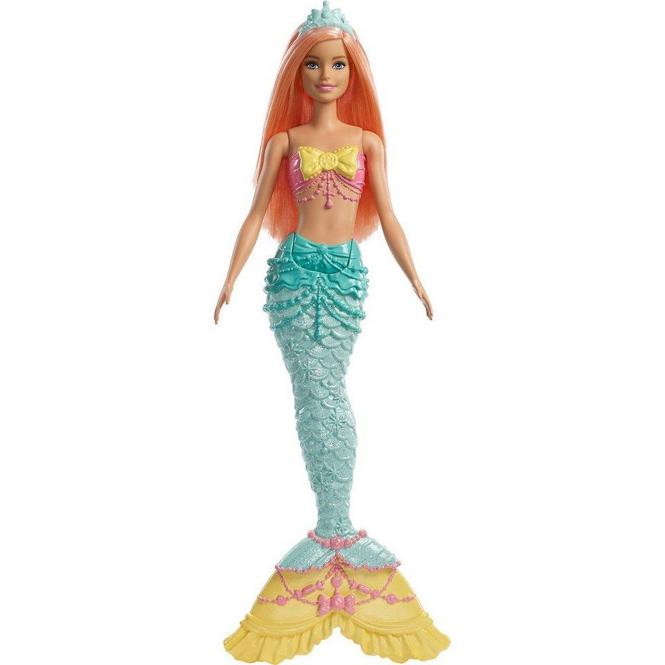 Mattel Barbie Dreamtopia Meerjungfrau Puppe Orange Haare Online