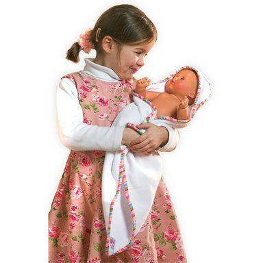 Heless Puppenkleidung Kapuzenbadetuch mit Zubehör