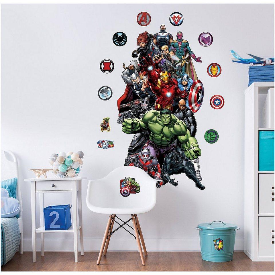 Walltastic Wandsticker Avengers Xxl Online Kaufen Otto