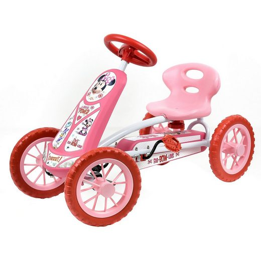 hauck TOYS FOR KIDS Go-Kart Turbo Minnie Mouse
