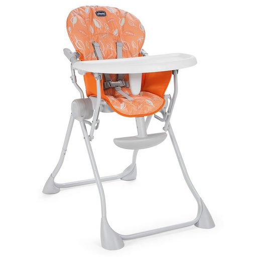 Chicco Hochstuhl Pocket Meal, Happy Orange