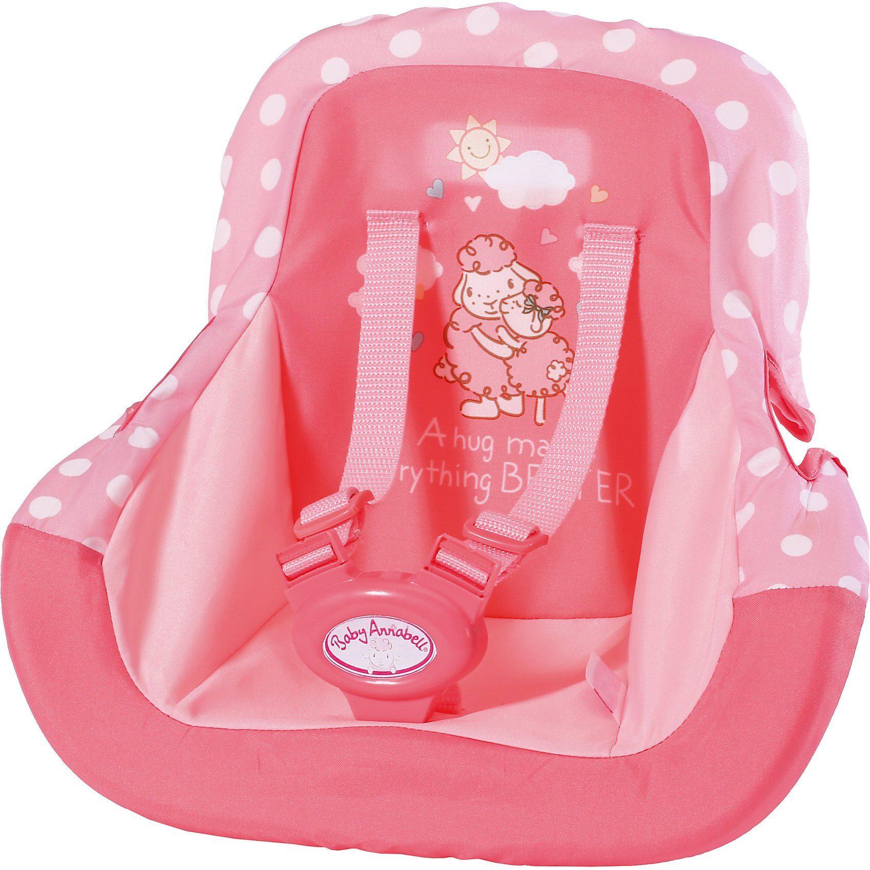 Zapf Creation® Baby Annabell® Autositz, Puppenzubehör