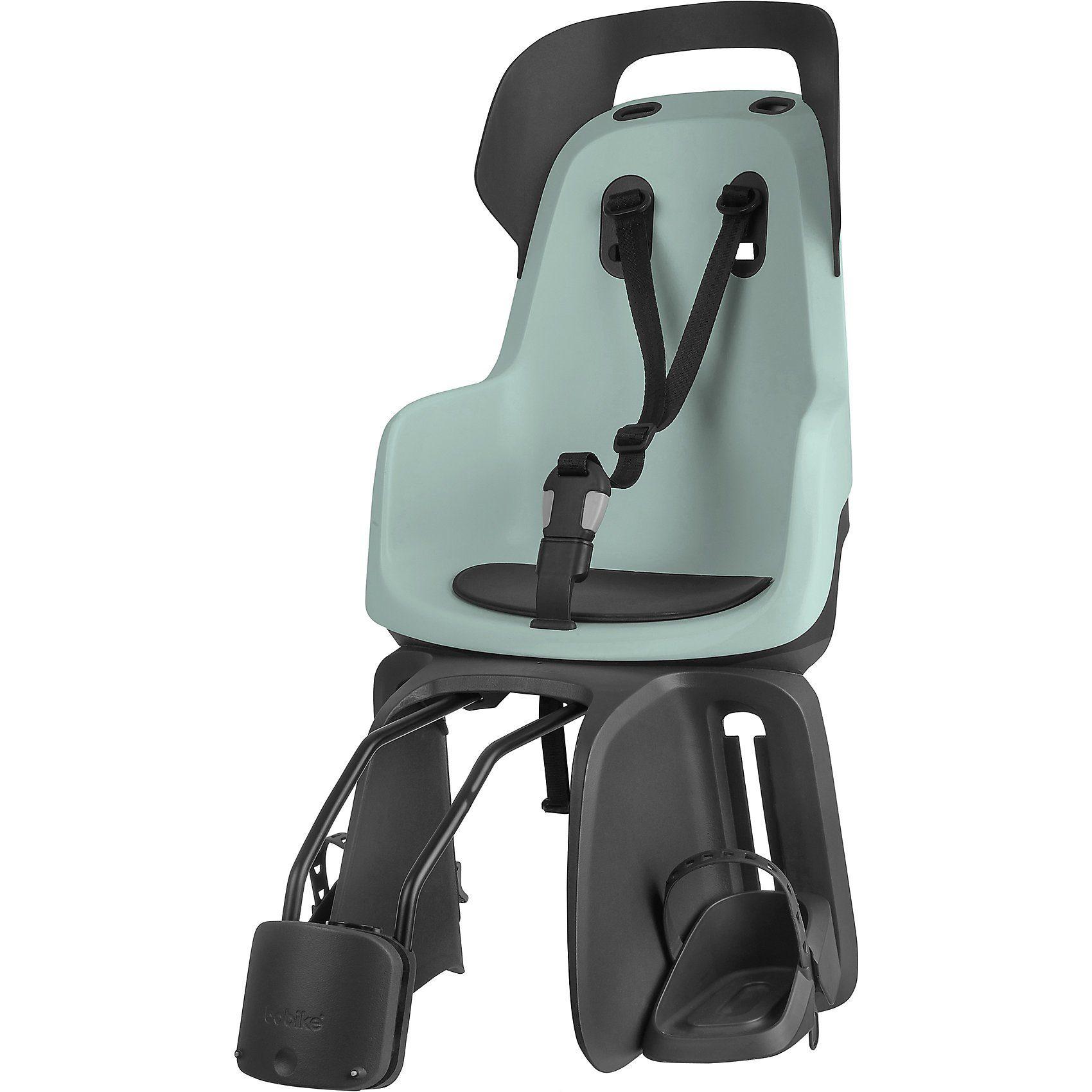 Bobike Fahrrad-Sicherheitssitz GO® EXCLUSIVE inkl. 1P-Bügel für gep