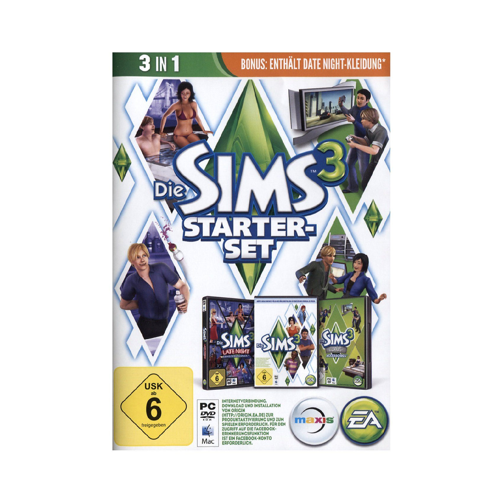 Electronic Arts PC Die Sims 3 - Starter Set