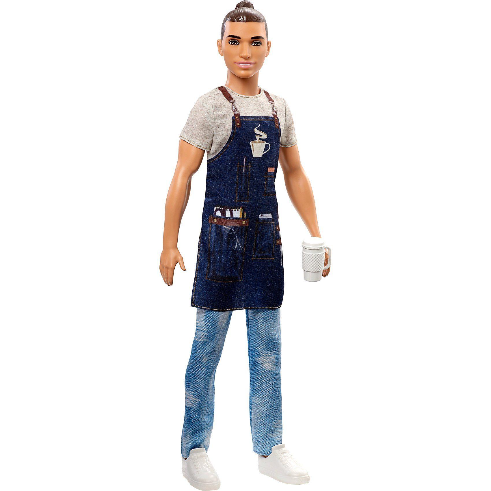 Mattel® Barbie Ken Career Puppe Barista