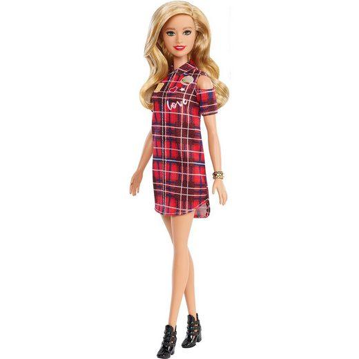 Mattel® Barbie Fashionistas Puppe Patched Plaid