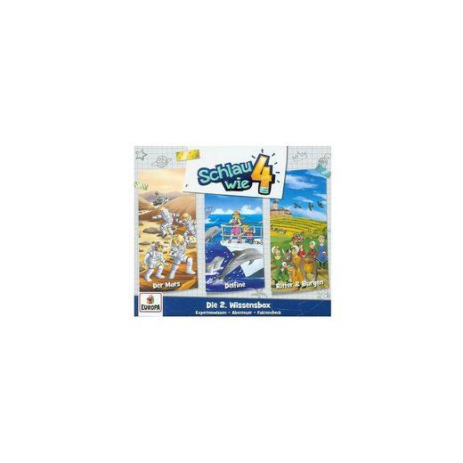 Sony CD Schlau wie Vier - 3er Wissens-Box (3 CDs)