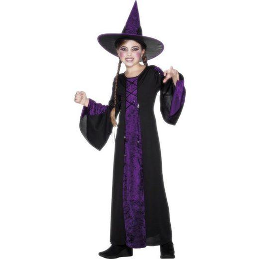 Little Purplewitch Hexenkostüm für Kinder schwa...