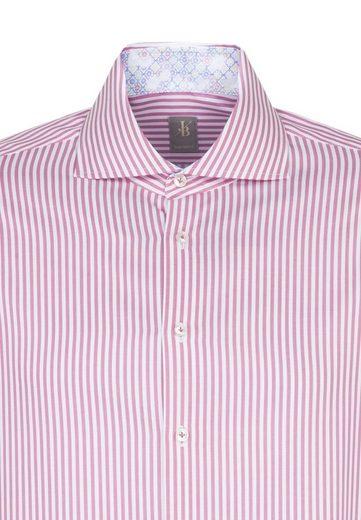 Fit« Streifen Jacques Langarm Businesshemd kragen Custom Fit Britt Hai »custom qtzwBxt
