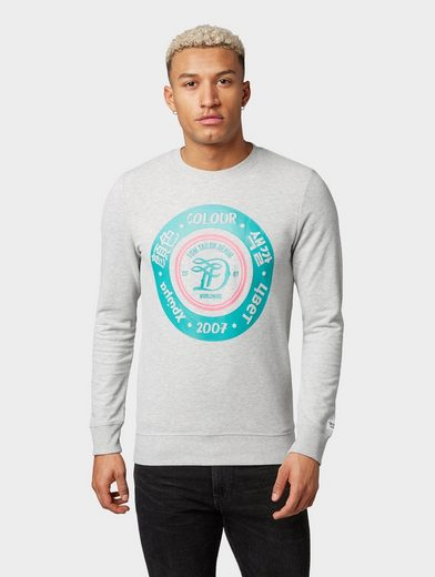 TOM TAILOR Denim Sweatshirt »Sweatshirt mit Brustprint«
