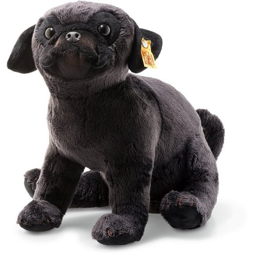 Steiff Perry Mops (24 cm) [schwarz]