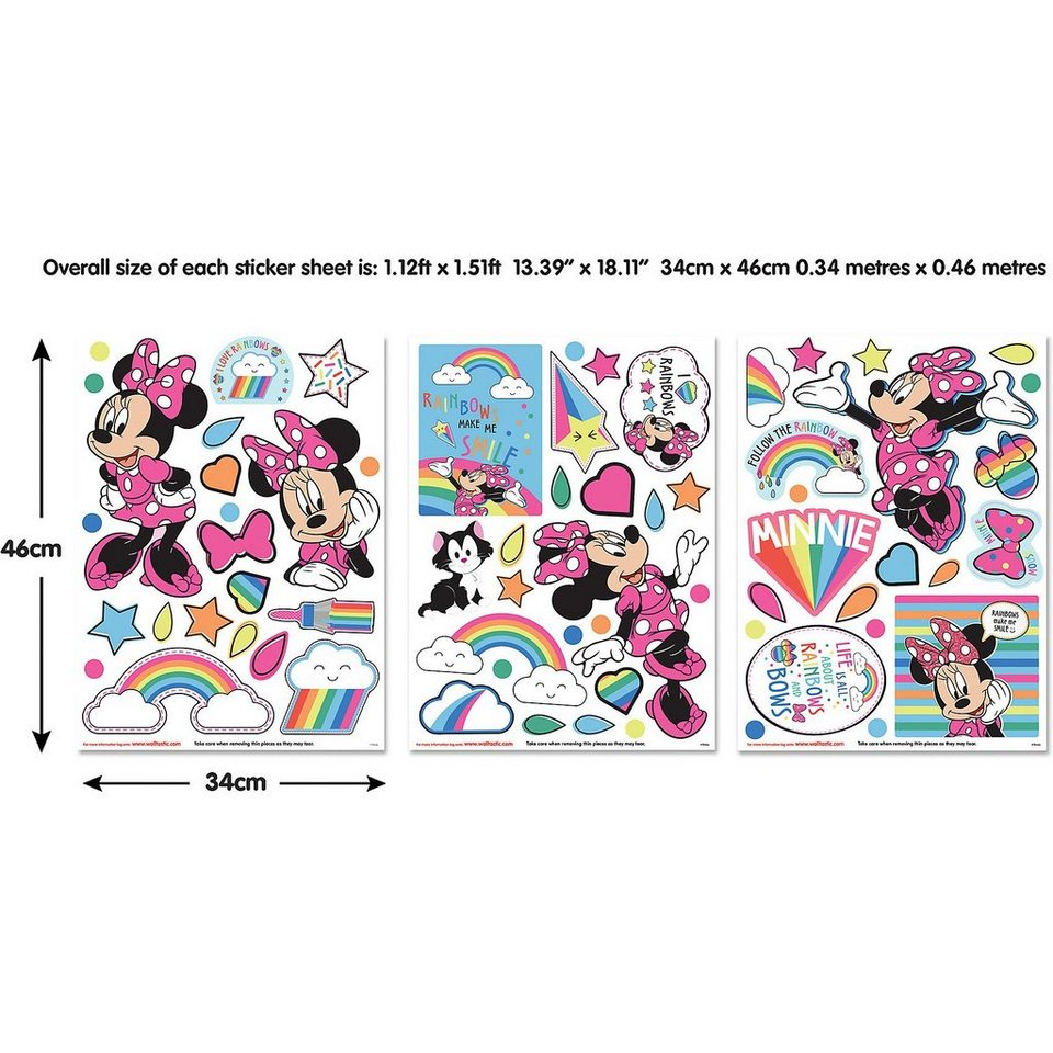 Walltastic Wandsticker Disney Minnie Mouse kaufen | OTTO