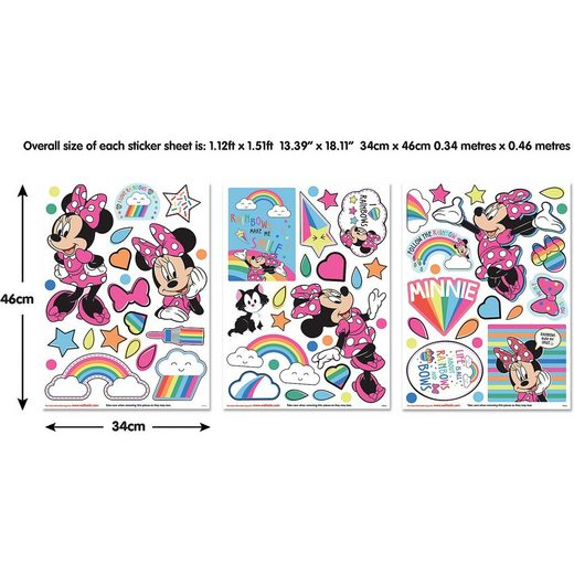 Walltastic Wandsticker Disney Minnie Mouse
