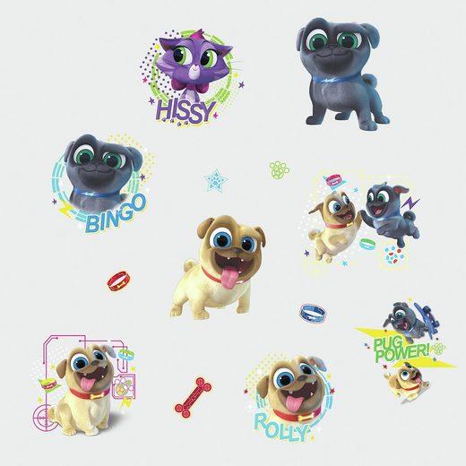 RoomMates Wandsticker Puppy Dog Pals