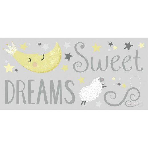 RoomMates Wandsticker Sweet Dreams