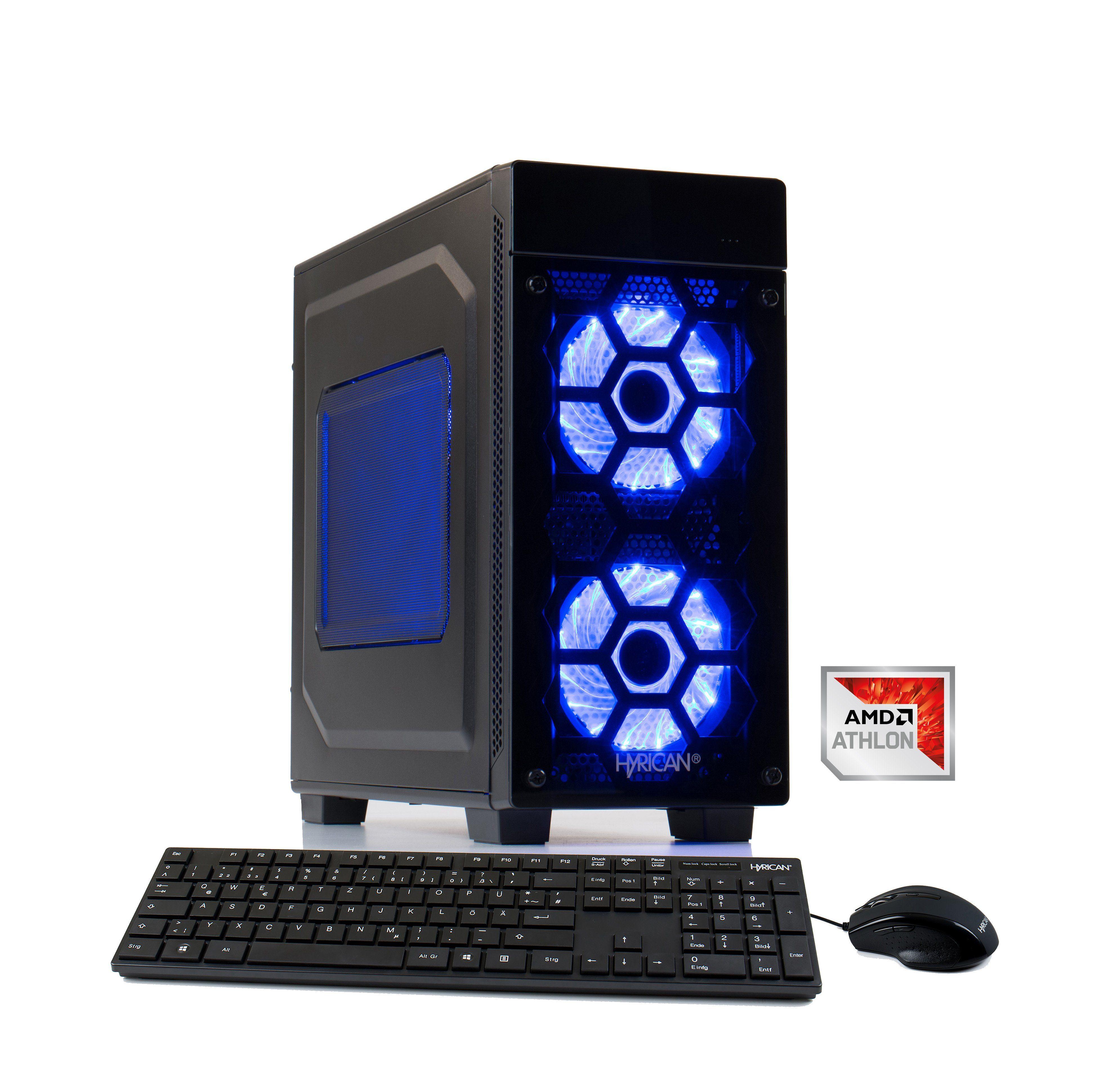 HYRICAN Gaming PC Athlon X4 950, 8GB, 1TB HDD, GeForce® GTX 1050 »Striker 6177«