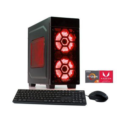 HYRICAN Gaming PC Ryzen 5 2400G 8GB SSD + HDD Radeon Vega 11 »Striker 6181«