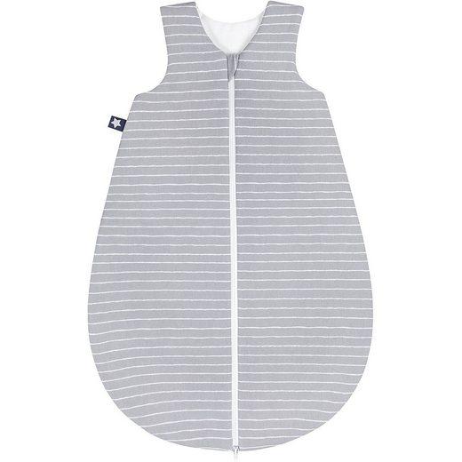 Zöllner Schlafsack, Jersey, Grey Stripes