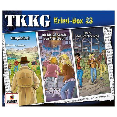 Sony CD TKKG Krimi-Box 23 (Folgen 187,188,190)