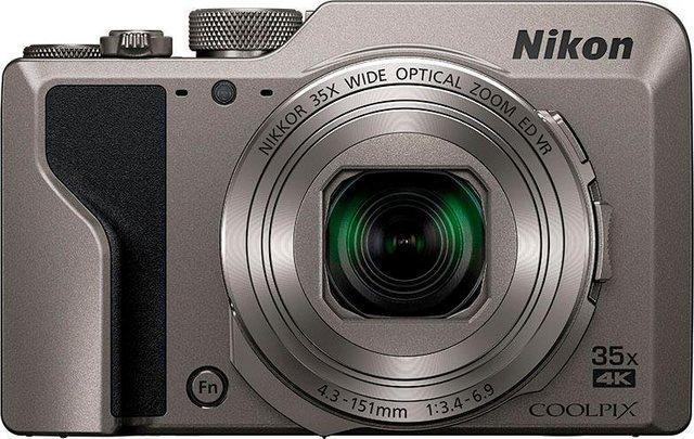 Digitalkameras - Nikon »Coolpix A1000« Superzoom Kamera (NIKKOR Objektiv mit optischem 35 fach Zoom, 16 MP, 35x opt. Zoom, Bluetooth, WLAN (Wi Fi)  - Onlineshop OTTO