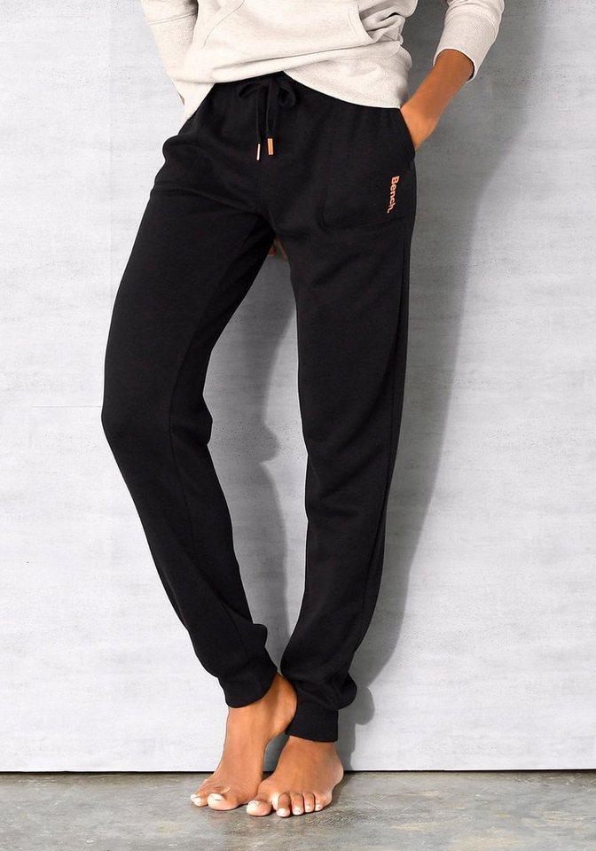 Bench. Loungehose mit aufgesetzten Taschen | Bekleidung > Umstandsmode > Umstandstuniken | Schwarz | Bench.