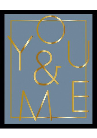 G&C G&C paveikslas »YOU & ME BLUE«