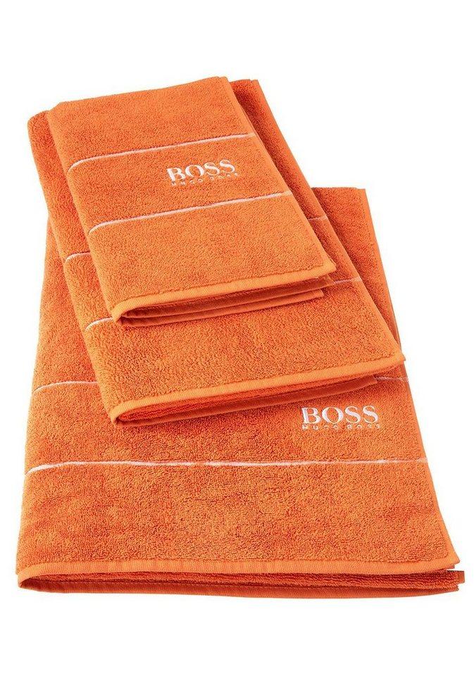 hugo boss home handtuch set plain 2 tlg 600g m online kaufen otto. Black Bedroom Furniture Sets. Home Design Ideas