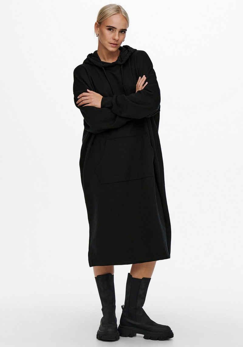 Only Sweatkleid »ONLCHELSEA LIFE L/S OVERSIZE DRESS« in Oversize Form