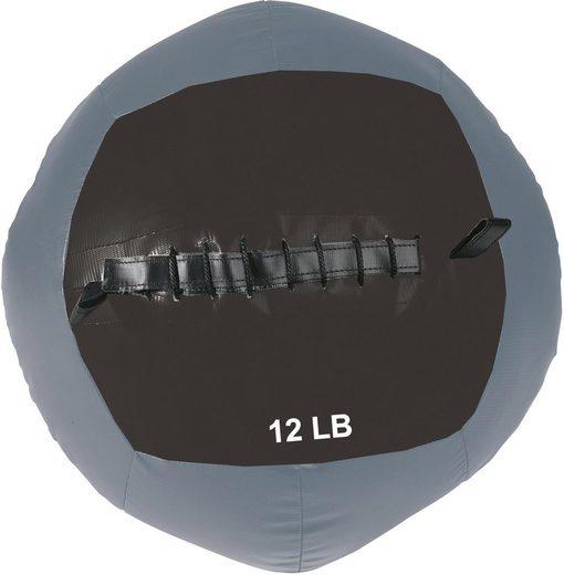 body coach Medizinball »BODYCOACH Wall Ball Medizinball Ø 36 cm robuster PU Trainingsball mit weicher Füllung für Konditions- & Functional Training«