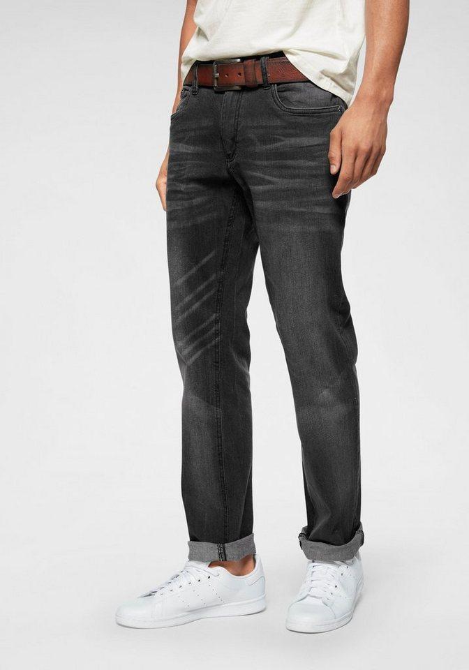 64336440dac9fc John Devin Straight-Jeans Stretch, Mit modischer Waschung online kaufen |  OTTO