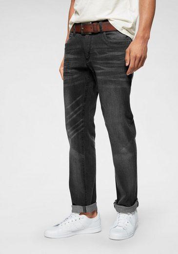 John Devin Straight-Jeans mit Stretch
