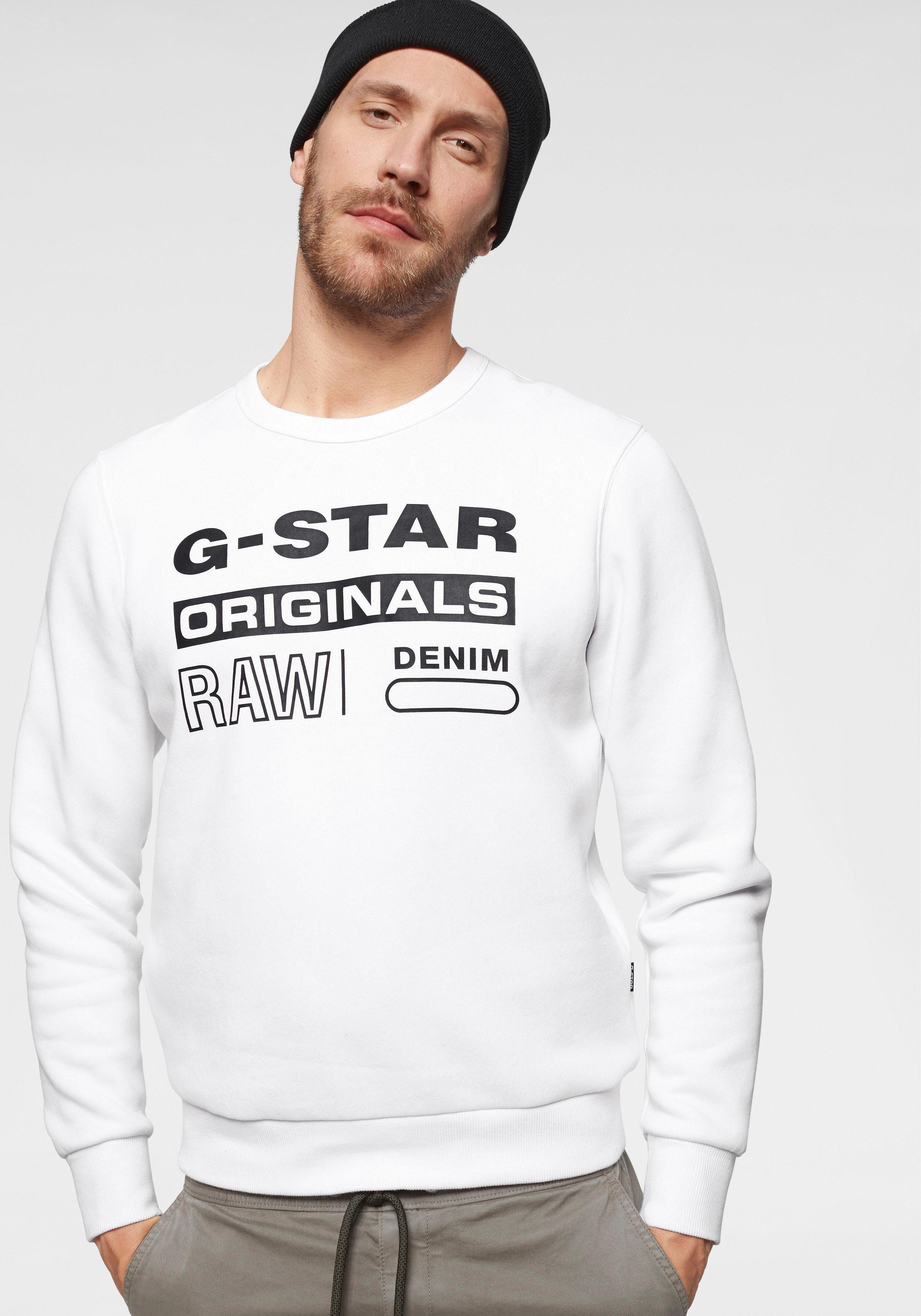 G-Star RAW Sweatshirt »Swando Logo Sweatshirt«