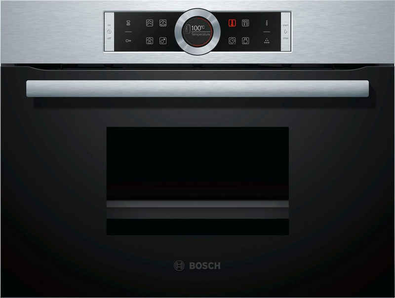BOSCH Einbau-Dampfgarer CDG634AS0, mit touchControl
