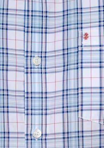 Kurzarmhemd Izod down kragen Mit Button v0Rn0