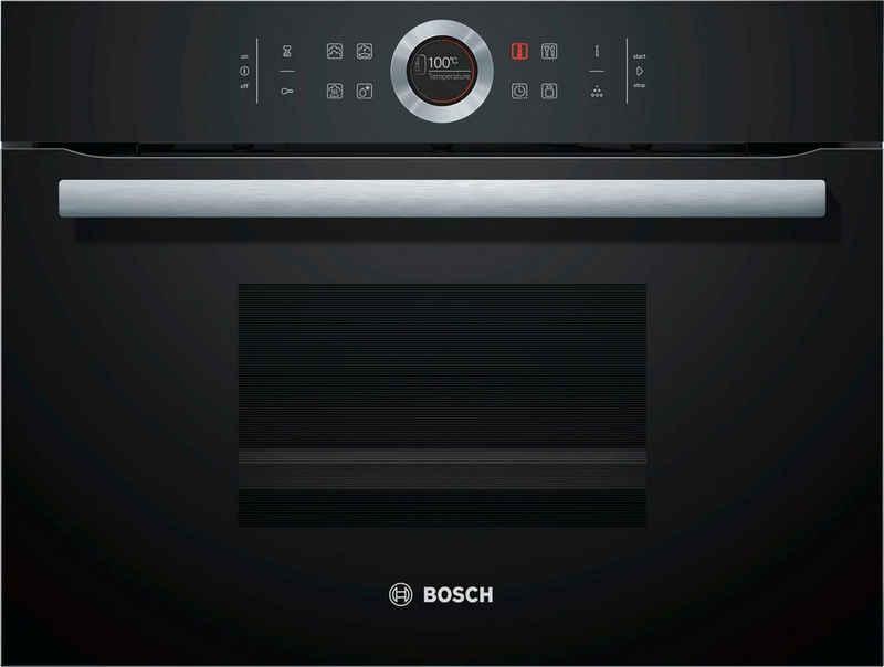 BOSCH Einbau-Dampfgarer CDG634AB0, mit touchControl